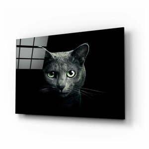 Sklenený obraz Insigne Cat, 110 x 70 cm