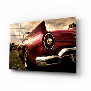 Sklenený obraz Insigne Chevrolet, 110 x 70 cm