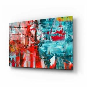 Sklenený obraz Insigne Abstract Reflection, 110 x 70 cm
