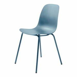 Súprava 2 sivomodrých stoličiek Unique Furniture Whitby