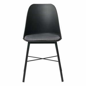 Súprava 2 čierno-sivých stoličiek Unique Furniture Whistler