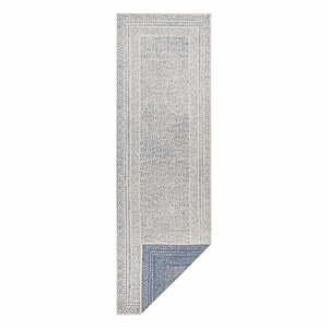 Modro-biely vonkajší behúň Ragami Berlin, 80 x 250 cm