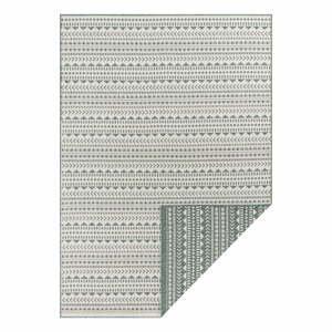 Zeleno-biely vonkajší koberec Ragami Kahira, 120 x 170 cm