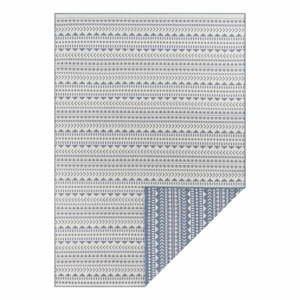 Modro-biely vonkajší koberec Ragami Kahira, 200 x 290 cm