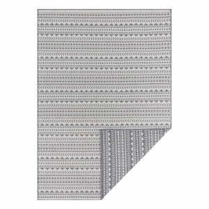 Sivo-biely vonkajší koberec Ragami Kahira, 80 x 150 cm
