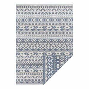 Modro-biely vonkajší koberec Ragami Roma, 200 x 290 cm