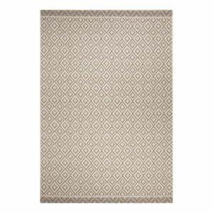 Béžovo-sivý vonkajší koberec Ragami Porto, 70 x 140 cm