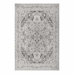 Čierno-béžový vonkajší koberec Ragami Vienna, 80 x 150 cm