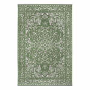 Zeleno-béžový vonkajší koberec Ragami Vienna, 120 x 170 cm
