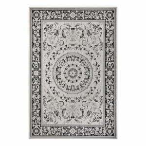 Čierno-béžový vonkajší koberec Ragami Prague, 200 x 290 cm