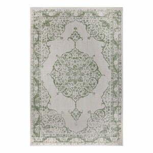 Zeleno-béžový vonkajší koberec Ragami Oslo, 120 x 170 cm