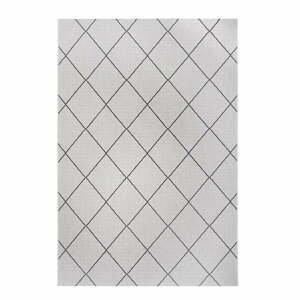 Čierno-sivý vonkajší koberec Ragami London, 80 x 150 cm