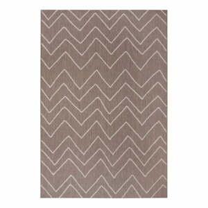 Hnedý vonkajší koberec Ragami Lisbon, 200 x 290 cm