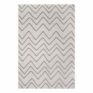Čierno-sivý vonkajší koberec Ragami Lisbon, 160 x 230 cm