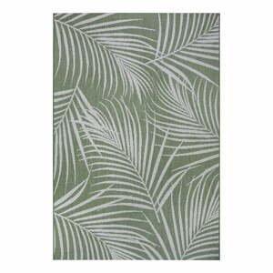 Zelený vonkajší koberec Ragami Flora, 200 x 290 cm