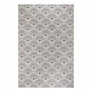 Čierno-sivý vonkajší koberec Ragami Amsterdam, 160 x 230 cm