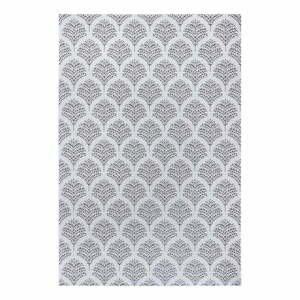 Čierno-sivý vonkajší koberec Ragami Moscow, 200 x 290 cm