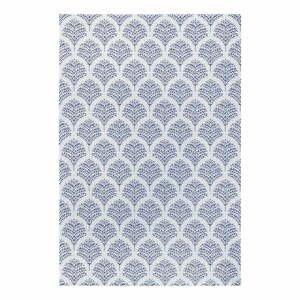 Modro-sivý vonkajší koberec Ragami Moscow, 120 x 170 cm