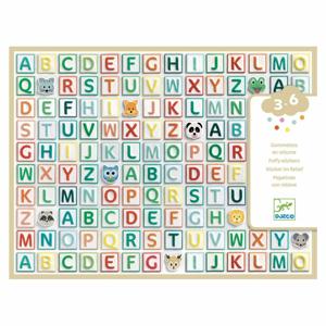 Samolepková abeceda Djeco