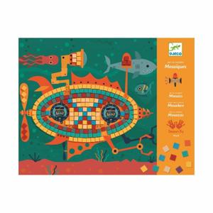 Pestrofarebná mozaika Djeco Stroje v pohybe