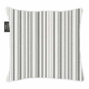 Bielo-čierny výhrevný vankúš Cosi z látky Sunbrella, 50 x 50 cm