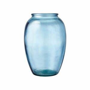 Modrá sklenená váza Bitz Kusintha, ø 17,5 cm