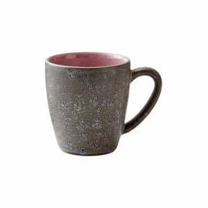 Sivo-ružový kameninový hrnček Bitz Mensa, 190 ml