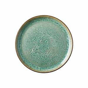 Zelený kameninový tanier Bitz Mensa, ø 17 cm