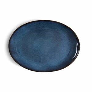 Modrá kameninová servírovacia misa Bitz Mensa