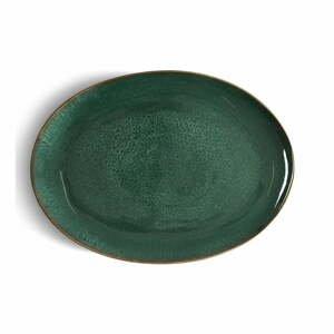 Zelená kameninová servírovacia misa Bitz Mensa