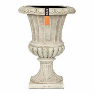 Béžový dekoratívny kvetináč Big pots French, ø 22 cm