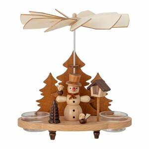 Vianočná drevená dekorácia Bloomingville Raz Votive