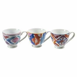 Súprava 6 porcelánových šálok na espresso Villa d'Este Coffee