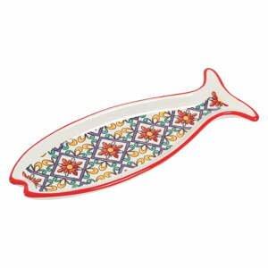 Súprava 2 dolomitových podnosov v tvare ryby Villa d'Este Ornamento