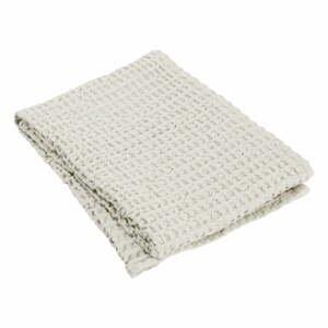 Svetlobéžový bavlnený uterák Blomus Moonbeam, 100 x 50 cm
