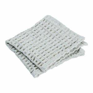 Súprava 2 svetlomodrých bavlnených uterákov Blomus Micro Chip, 30 x 30 cm