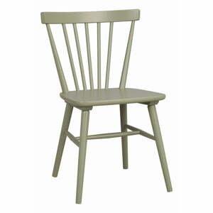 Svetlozelená jedálenská stolička Rowico Akita