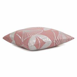 Súprava 2 ružových obliečok na vankúš AmeliaHome Floris, 45 x 45 cm