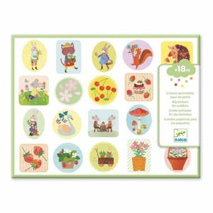 Samolepky pre najmenších Djeco Záhrada