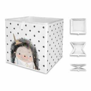 Detský úložný box Mr. Little Fox Hedgehog Boy