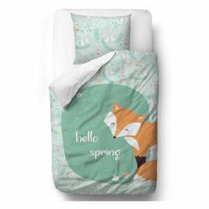 Bavlnené detské obliečky Mr. Little Fox Close Friends, 100 x 130 cm