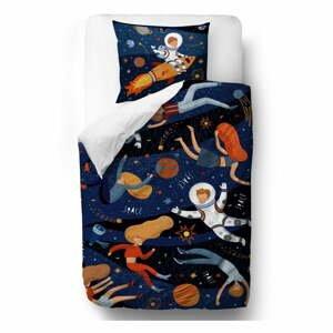 Bavlnené detské obliečky Mr. Little Fox Space Adventure, 100 x 130 cm