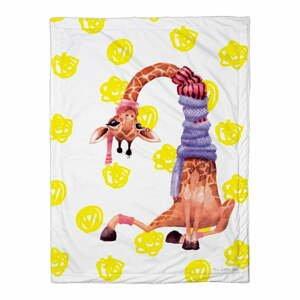 Detská prikrývka Mr. Little Fox Boys Safari Friends, 100 x 70 cm