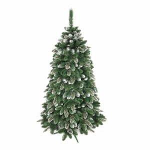 Umelý vianočný stromček zasnežená borovica, výška 150 cm