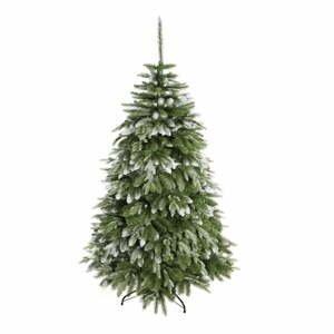 Umelý vianočný stromček zasnežený smrek, výška 220 cm