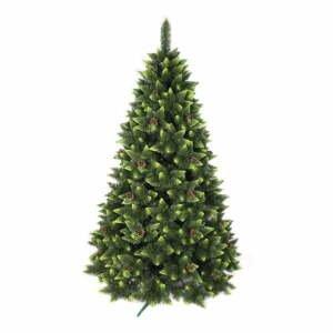 Umelý vianočný stromček zdobená borovica, výška 180 cm