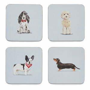 Súprava 4 podnosov Cooksmart ® Curious Dogs