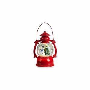 Červená vianočná svetelná dekorácia Markslöjd Lothar