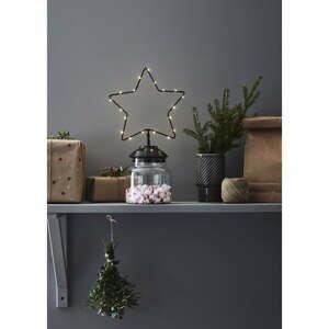 Čierna vianočná svetelná dekorácia Markslöjd Sweetie