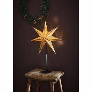 Vianočná svetelná dekorácia v zlatej farbe Markslöjd Glitter